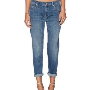 🇺🇸MOTHER The Dropout Hearts at Risk Jeans SZ 26